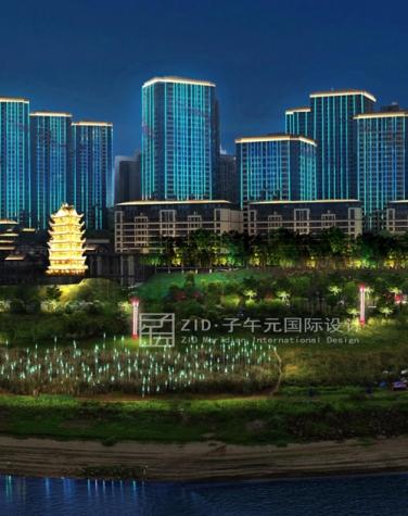重庆巴南区城市照明