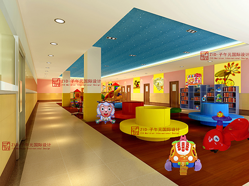 五层儿童候诊区