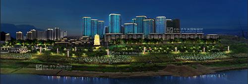 重庆巴南区城市照明规划